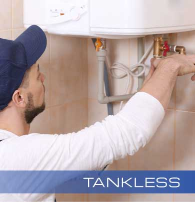 Tankless Water Heating Services